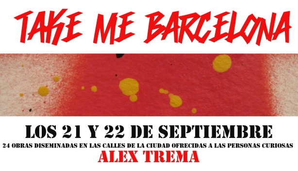 Flyer TaKe Me Barcelona